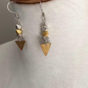 Two toned earrings
